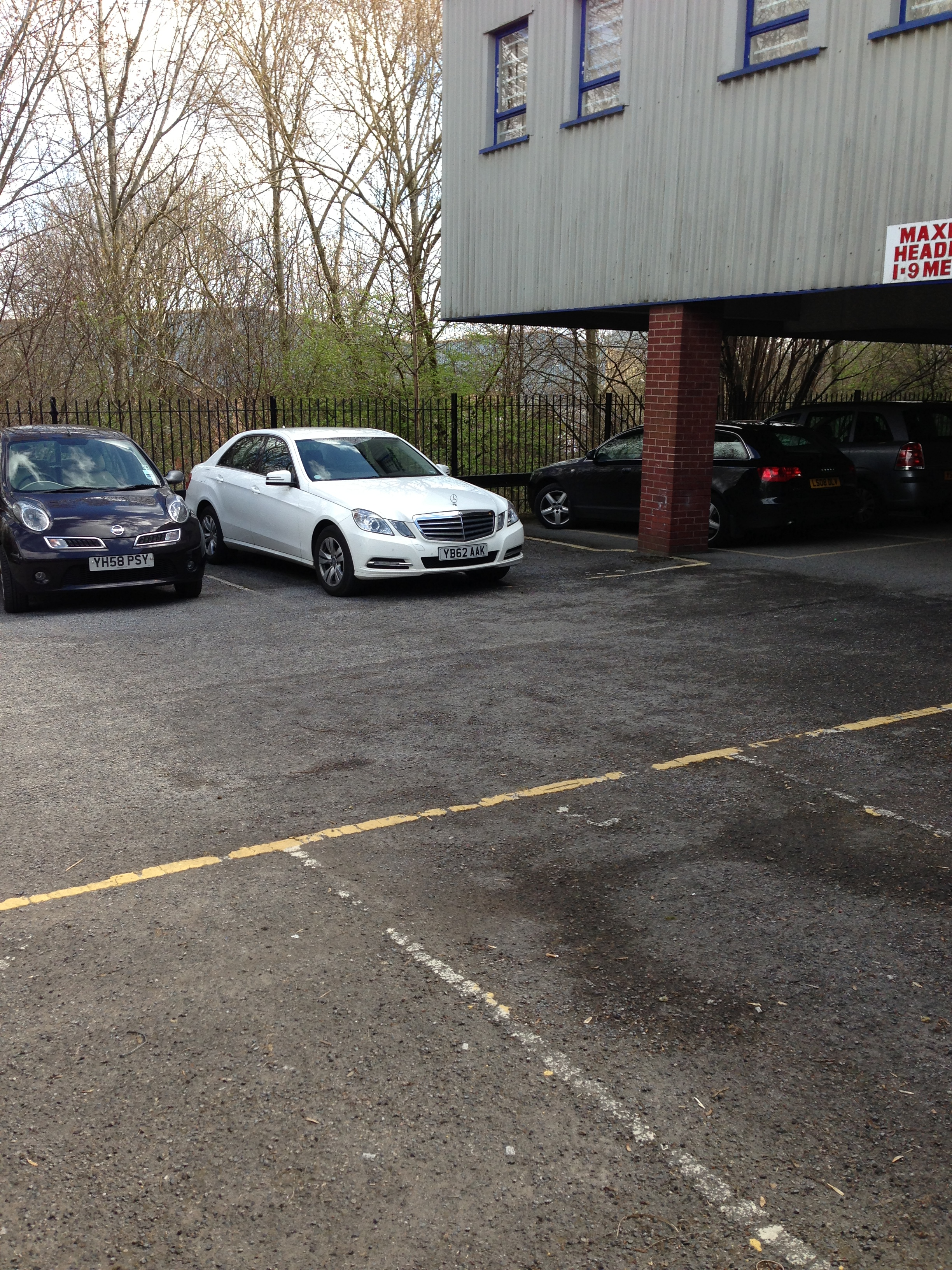 Carpark for Office Units Leeds West Yorkshire