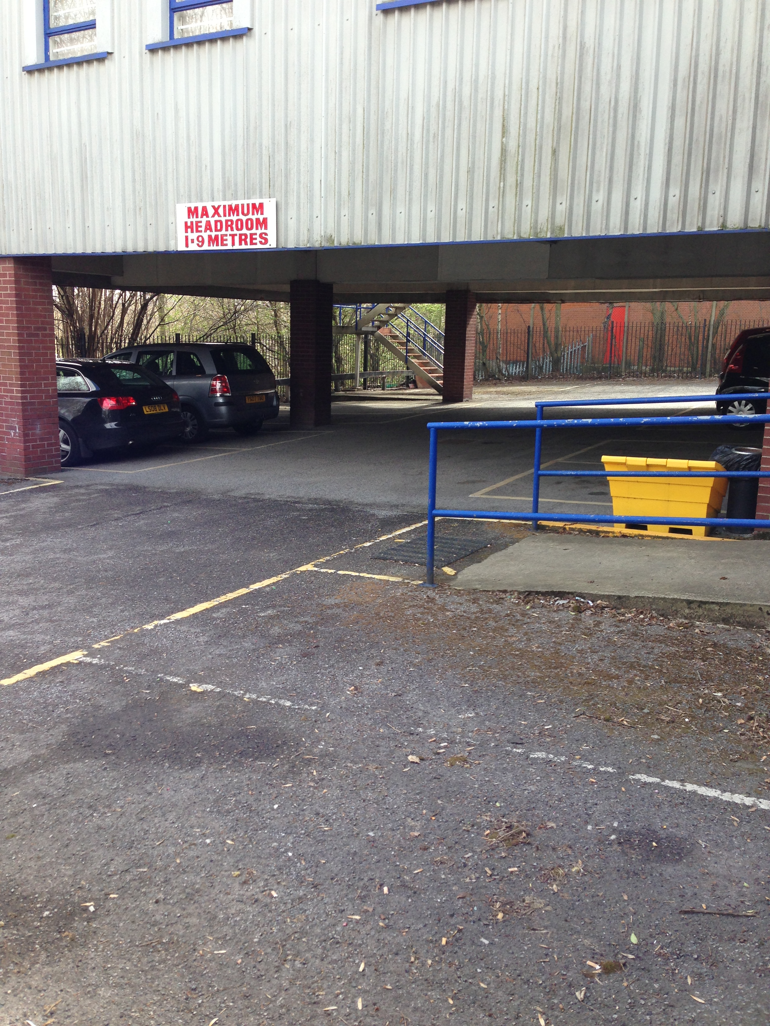 Parking Spaces at Leeds Office Unit